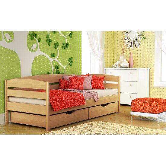 Дерев'яне ліжко Estella НОТА ПЛЮС