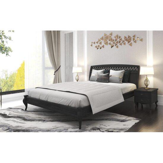 Дерев'яне ліжко ArtWood ДУБЛІН декор