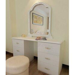 Туалетный столик ФУТУРА 6 ящ. с зеркалом