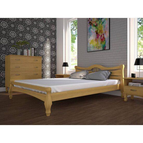 Ліжко ТИС КОРОНА-1 сосна