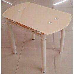 Стол обеденный DST-041 1000*600(+400)*760 беж
