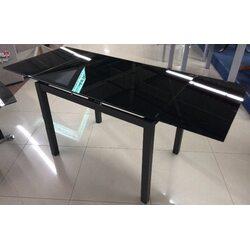Стол обеденный DF-101T 1000(+350+350)*700* 760 чёрный