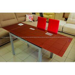 Стол обеденный DF-101T 1000(+350+350)*700* 760 красный