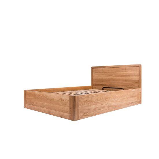 Дерев'яне ліжко TQ Project ЛАУРО з ПМ ясен