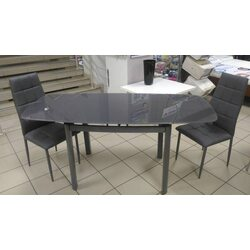 Стол обеденный DST-102 1000(+600)*700*760 серый