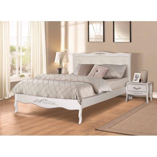 Ліжко АЛЕКСАНДРІЯ біле